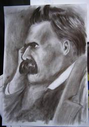 Friedrich Nietzsche by AlexPetrovici