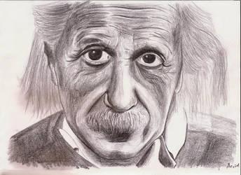Einstein by AlexPetrovici