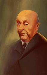 Pablo Neruda by AlexPetrovici