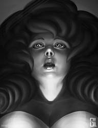 Black and White - Rose Quartz by raynnerGIL