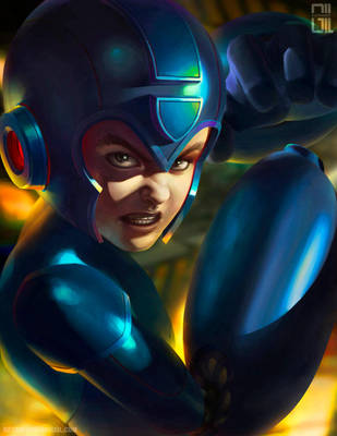 Mega Man by raynnerGIL