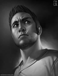 Self-portrait by raynnerGIL
