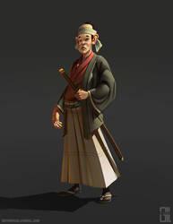 Old Samurai! by raynnerGIL