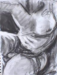 study of a male torso by pexa