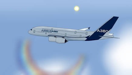Airbus A380 by Space-MAX