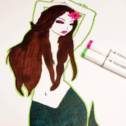 Seductive Siren by SeacArtist
