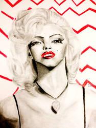 Marilyn Monroe by SeacArtist
