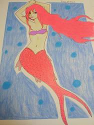 Cute Mermaid~ by SeacArtist
