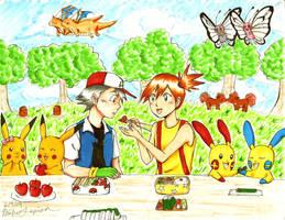 Pokemon Picnic by merumeruchan