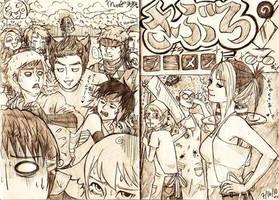 Saburo's Killer Ramen Shop by merumeruchan
