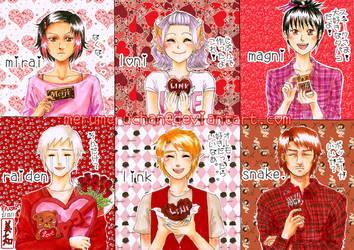 Sandou: Happy Valentine's Day by merumeruchan