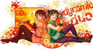 Dynamic Duo by merumeruchan