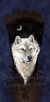 White Wolf Spirit by ssantara