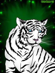 White Tiger by Enerdyte