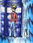 Jeremy as The Doctor by Enerdyte