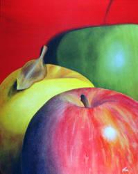 Three Apples by rondo858