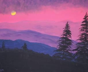 Pink Sky by ajburr