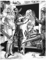 Femforce Arrested by ed-coutts