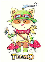 Teemo by DNAcaroline