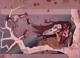 Ashenputel Calls the Birds by ArielleAdalae