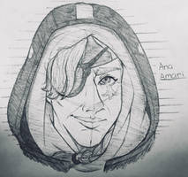 Bored At Work: Ana Amari by AceOfBros