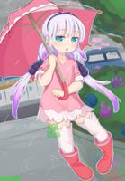 Kobayashi Dragon Maid: Ame Ame Ame Kanna by AceOfBros