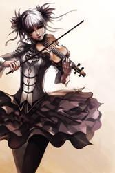 Violin Girl by Ninjatic