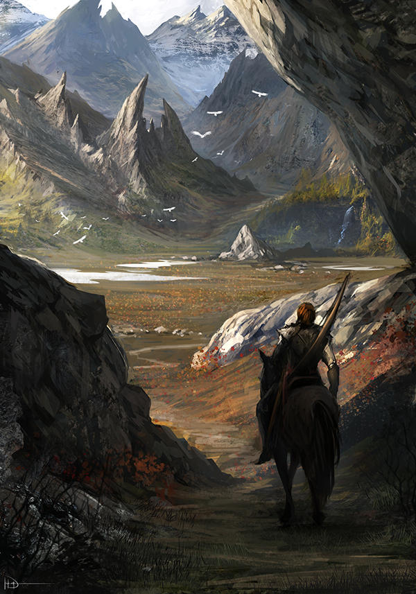 Behind The Mountains by Ninjatic
