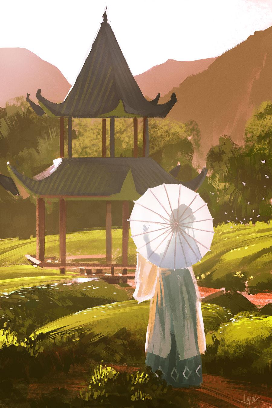 Garden Stroll by Ninjatic