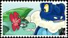 NuzRea: Froakbiscus Stamp by BluSilurus
