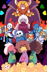 Undertale [Redraw] by KuluGary