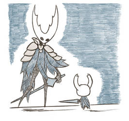 Hollow Knight Sketches 2 by KuluGary