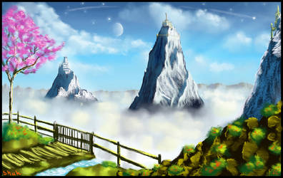 Speed painting - Zen Garden by IRCSS