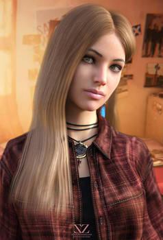 Rachel Amber ( Portrait ) Life is Strange by Vizzee