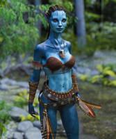 Na vi (Avatar Fanart) by Vizzee