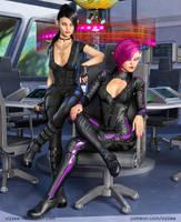 Space Odyssey : Astria and Alais by Vizzee