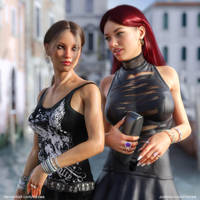 Vanessa and Lena by Vizzee