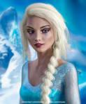 Disney Princess Real Life : Elsa (Frozen) by Vizzee