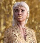 The Golden Queen by Vizzee