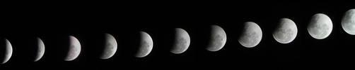 Moon Eclipse by leeecho