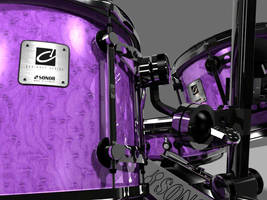 3d Drum Set by AEvilMike
