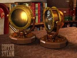 Aether Lamp Concept by AEvilMike