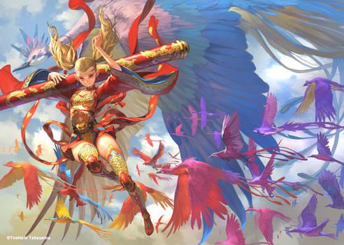 fly in the air by TakayamaToshiaki