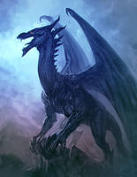 Dark Dragon by bmd247