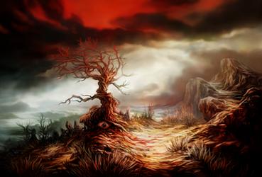 Blood Eye by JakobHansson