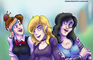 Girl Friends by TheInsaneDingo