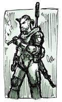Tiny Snake Sketch by TheInsaneDingo