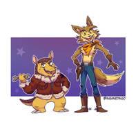Coyote by TheInsaneDingo