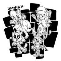 Spooky Truetail by TheInsaneDingo