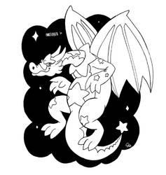 Star Dragon by TheInsaneDingo